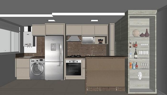 Projeto cozinha-Lav